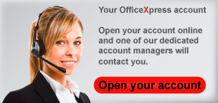 Open an OfficeXpress account